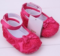 Baby shoes girls Butterfly - knot Flower Cotton Shoes Kids Shoes First Walkers