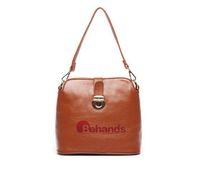 2014 Women Bags Genuine Leather Handbags Fashion Hasp Shoulder Bag Brown Cross-body Purses BH1510+Free Shipping