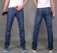 2014 male trousers slim pencil pants boys jeans skinny pants casual trousers men jeans