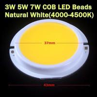 20PCS/Lot 3W/5W/7W LED COB Chip Beads 9V/300mA 3W LED COB Emitter For LED Spotlight,led bulb lamp Free Shipping