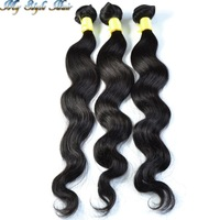 "1pcs lot Peruvian virgin hair body wave hair extension,unprocessed virgin hair bundle natural color,10""-36""  100g/piece"