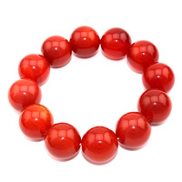 Liang Yu-known Brazilian onyx natural stone bracelets luck putting the bead diameter 14mm suitable for men and women to wear