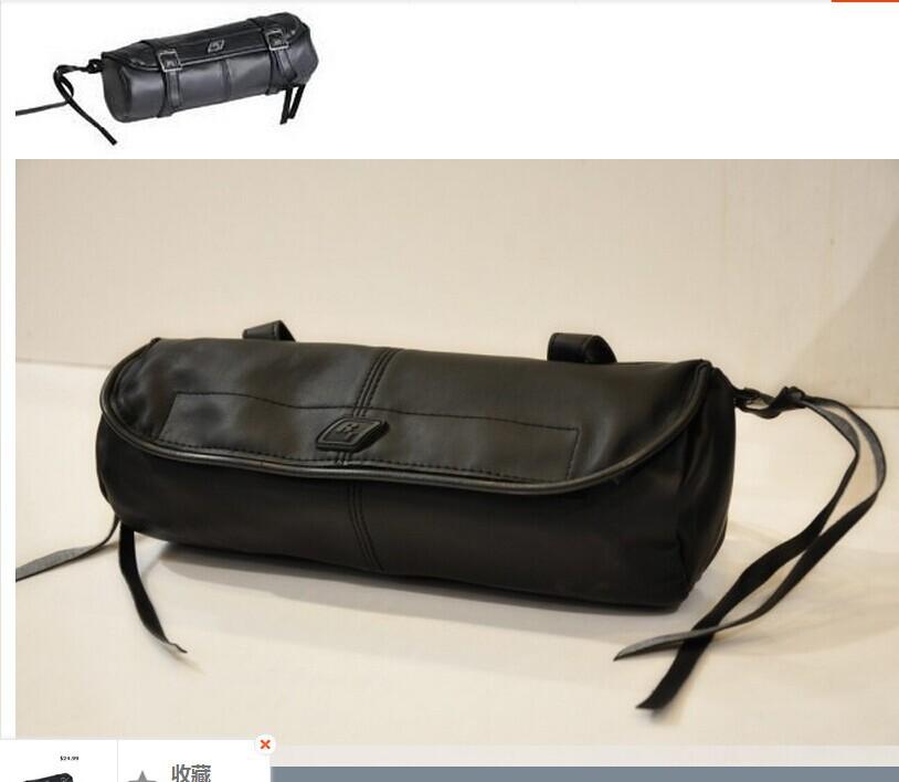 Мотоциклетная кожаная сумка для сидений