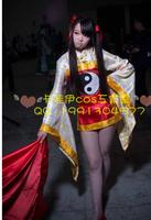 Anime Card Captor Sakura Syaoran Li Cosplay Costume dobok lolita punk girls dress kimono