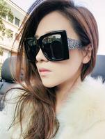 New European and American fashion sunglasses for men and women carved retro black-rimmed glasses frame eyeglasses #B-231