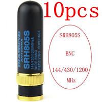 10pcs NEW SRH805S DUAL BAND 144/430MHz U/V BNC Antenna for Kenwood radio TK100 TK200 TK220 TK300 TK310 TK320 TK308 TH28A TH42AT