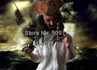 Wholesale 10 pcs/lot Carnival Party Halloween Hats Costume Hat  Jack's Caribbean Pirate  Hat