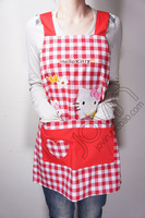 Hello Kitty Plaid Apron