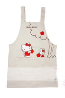 Cute Hello Kitty Apron Hello Kitty Beige Apron