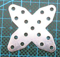 Cross iron / DIY assembled model / handmade materials
