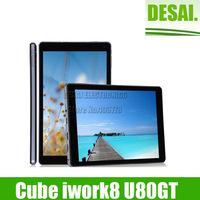 "Cube U80GT iWork8 Quad Core Tablet PC Intel Atom Z3735E 8"" 1280*800 IPS Windows 8.1 Dual Camera 1GB/16GB HDMI OTG"