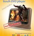 2 Pcs X 9 Inch Auto Headrest Car DVD Monitor Headrest TFT LCD DVD Player 9