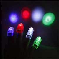 Led finger lights child and adult light-up toy led laser ring novelty items for paty/event/bar supplies 200pcs/lot