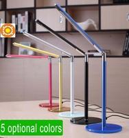 Hight Quality Bright-LEDs New 24 LED Desk Lamp Table Lighting Toughened Glass Base USB/AC 110V-220V Power