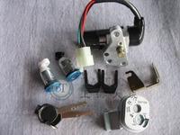 JS125T Lock Ignition Key Switch Set Seat Lock Key For Yamaha Jog 50cc QJ Keeway Chinese Scooter Honda Motorcycles Spare Part
