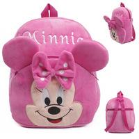 Children school bags Minnie Mouse school backpacks fleece mochila infantil baby girl bolsas mochilas school kids