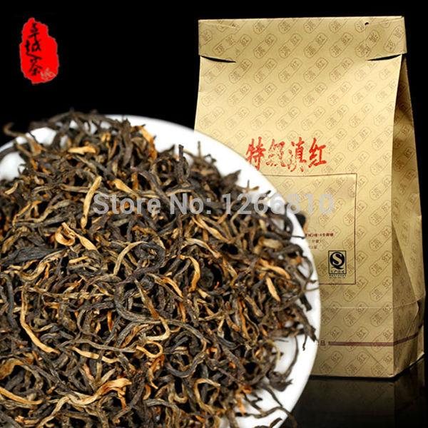tea new 2014 spring grade Yunnan health care 500g food Dianhong anti atherogenic loose black tea