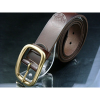 Kind of archaize of cowhide leather factory whole price made men and women Leather belt can be printed LOGO