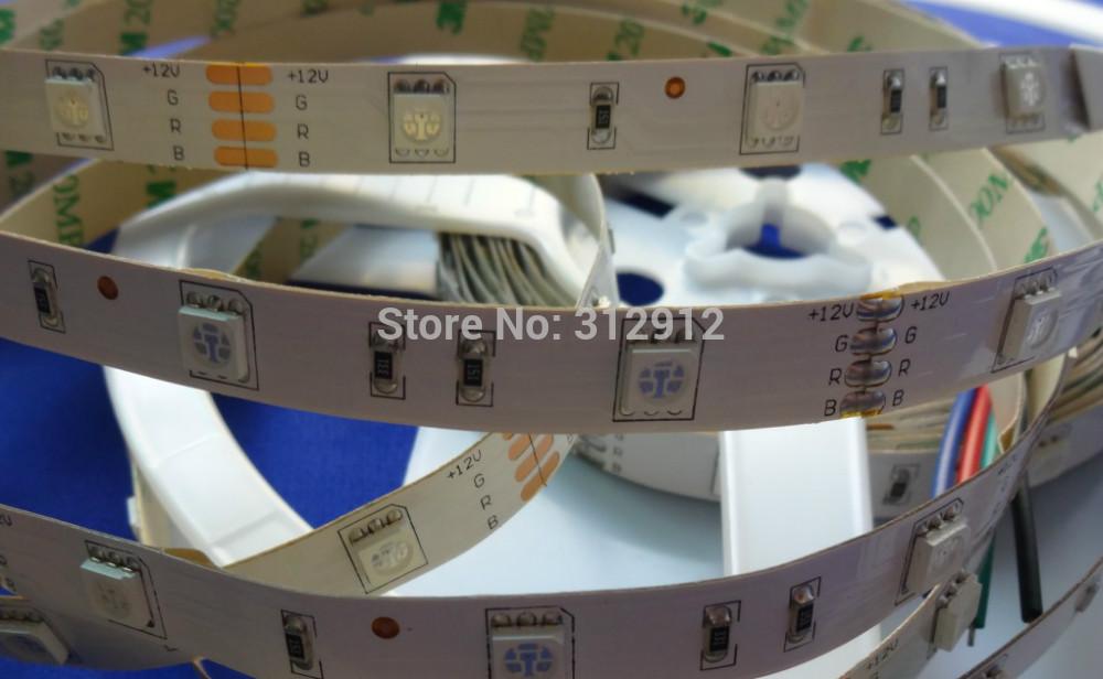 DC12V LED strip 5050 SMD flexible light 30LED/m,5m 150LED,White,warm,Blue,Green,Red,Yellow;RGB;non-waterproof;IP33(China (Mainland))