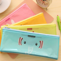 PVC pencil bag B6 students pen case 19*8 cm Free shipping OF003B6