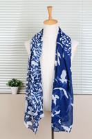 Long Cotton Scarf/1PC 100*180cm Fashion Bird Theme Sea Gull Printed scarves/WJ-158