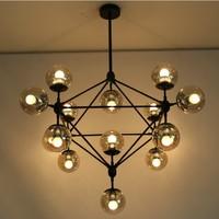 Wholesale - Modern Glass Chandeliers Jason Miller MODO Chandelier DNA Droplight (10/15/21-Heads) Dining Room Pendant Lamp Light
