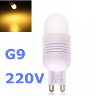2pcs G4 LED 3W Ac Dc 12V lamps MINI Ceramic Bulb led light SMD Crystal light cold white/warm white wholesale free shipping