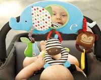baby toy cute bed hang elephant haha mirror alphabet zoo stroller bar activity toy 1pc