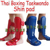 KangRui PU EVA Thai Boxing Taekwondo Leggings Calf Lower Leg Shin pad Instep protect protector training