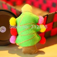 2Pcs/lot Christmas Tree Pet Cat Toys Free Shipping 9946TT Sound Small Dog Supplies