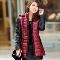 New 2014 Cotton-Padded Jacket Slim Waist Wadded Jacket Women's Outerwear Thick,Ladies korean winter coats for women
