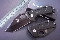 KaBar-5552 Utility Outdoor survival folding knife high quality 440 blade camping pocket knife free shipping