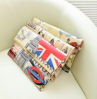 Bags 2014 women's handbag summer vintage national flag envelope clutch bag day clutch messenger bag