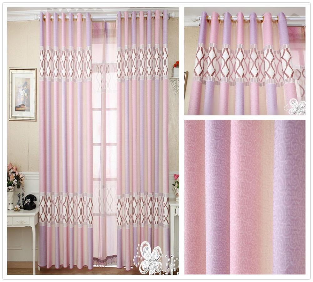 Cortinas parágrafo Sala Cortinas de seda Cortinas Para a venda da novo estilo misturado cortina contratada e elegante estudo(China (Mainland))