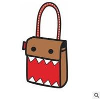 014 top bags cartoons bag traveling bag cartoon 3d cross-body bag female bags