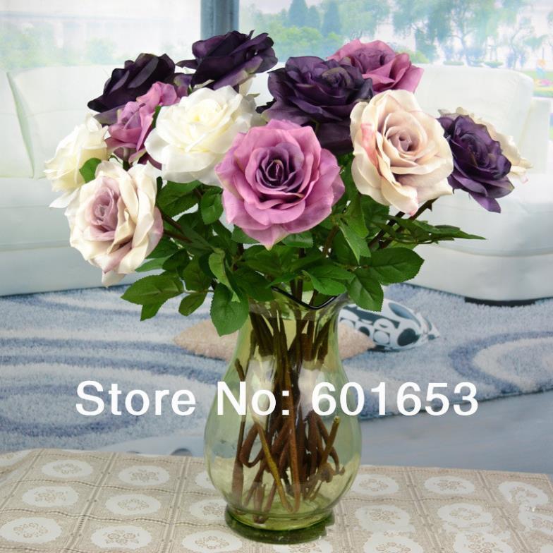 Single classical decoration rose, decorative flowers,home decoration rose(China (Mainland))