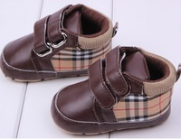 Fashion brand Lattice style baby girl shoes Kids Shoes First Walkers