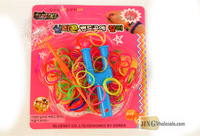 rainbow bracelet Craft Set Blister Packing Jingwholesale.com