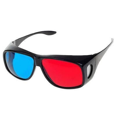 product 2014 New Arrival Hot Saels New 5x Red/Blue Stereo 3D Glasses Make Eyes See 3D Effect Movie Game Free Shipping&Wholesale
