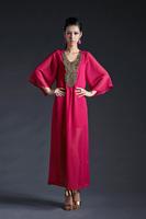 Al60378 real pictures with model flash bulbmagnesium paillette decoration long design twinset dress