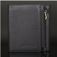 New Syyle Men's genuine leather wallets Brand design carteira,High Quality Business Fashion Men purse bags 3