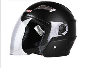 2014 new motorcycle helmet prevent mist Rain electric half helmet Winter helmet safety men and women(China (Mainland))