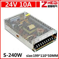 10 a 24 v switching power supply, AC110V / 220 v - 240 w dc DC24V power supply