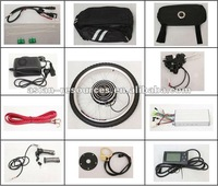 "e bike conversion kit 48V 500W 28"" Rear Wheel Electric Bicycle Ebike Conversion Kits 2013 New Style with LCD Display"