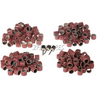 """103Pcs set 1/2"""" Sanding Bands Sleeves and Mandrels For DREMEL and Rotary Tools"""