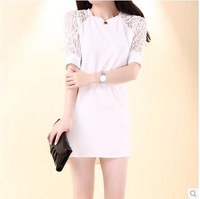 2014 white summer dress 3 colors