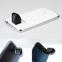Universal fisheye Magnetic 90 Degree Turning Corner Periscope lens for iphone/Samsung/HTC lens Free shipping SJJT-1