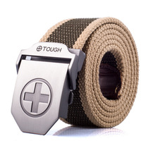 Fashion Canvas belt wholesale + wild striped canvas belt fabric tide brand Canvas belt hot selling new Canvas belt,hot sale