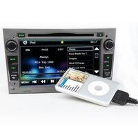 Special car dvd radio player for OPEL ZAFIRA(2005/2006/2007/2008/2009/2010)7 Inch  Digital Touch Screen DVD GPS Navigator