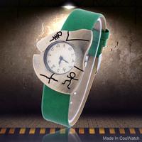 2014 New Fashion Casual Watch Retro steel Case Design Symbols Women's Wristwatch PU Band Analog Vintage Clock Lady Quartz watch